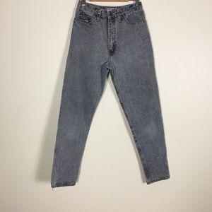 Guess Vintage Acid Wash Grey High Rise Skinny Jean